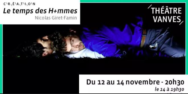 Le temps des H+mmes – Théâtre de Vanves