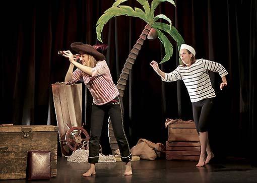 La pirate écologique – Théâtre de la Contrescarpe